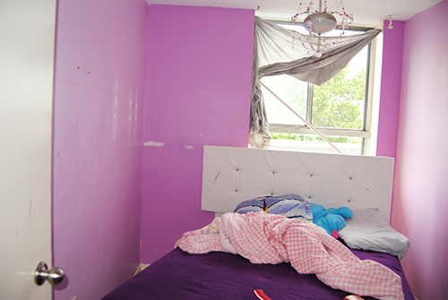 A 12 year old girl wanted a pink bedroom. Her mom saved and hired someone to paint it for $50 a large amount for her. The painter brought his own choice of ... & Pink bedrom for 12 year old girl - Room for a Child