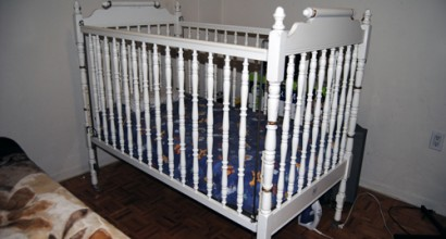 Crib for a baby